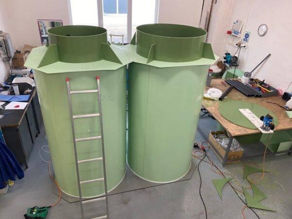Produkcja oczyszczalni ścieków Topas 5